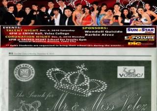 Mr and Ms Velez 2011
