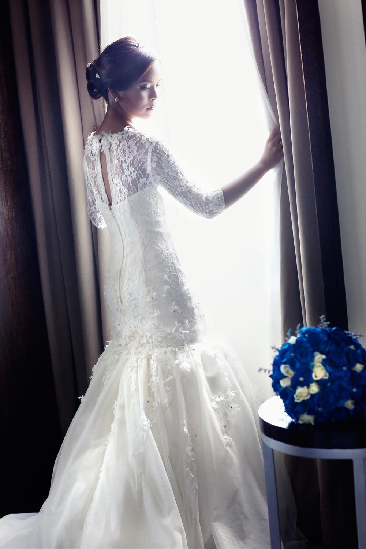 Mel Window Bride