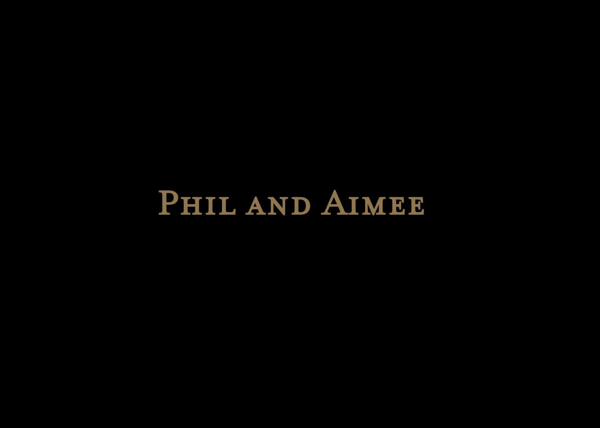 Aimee and Phil AVP